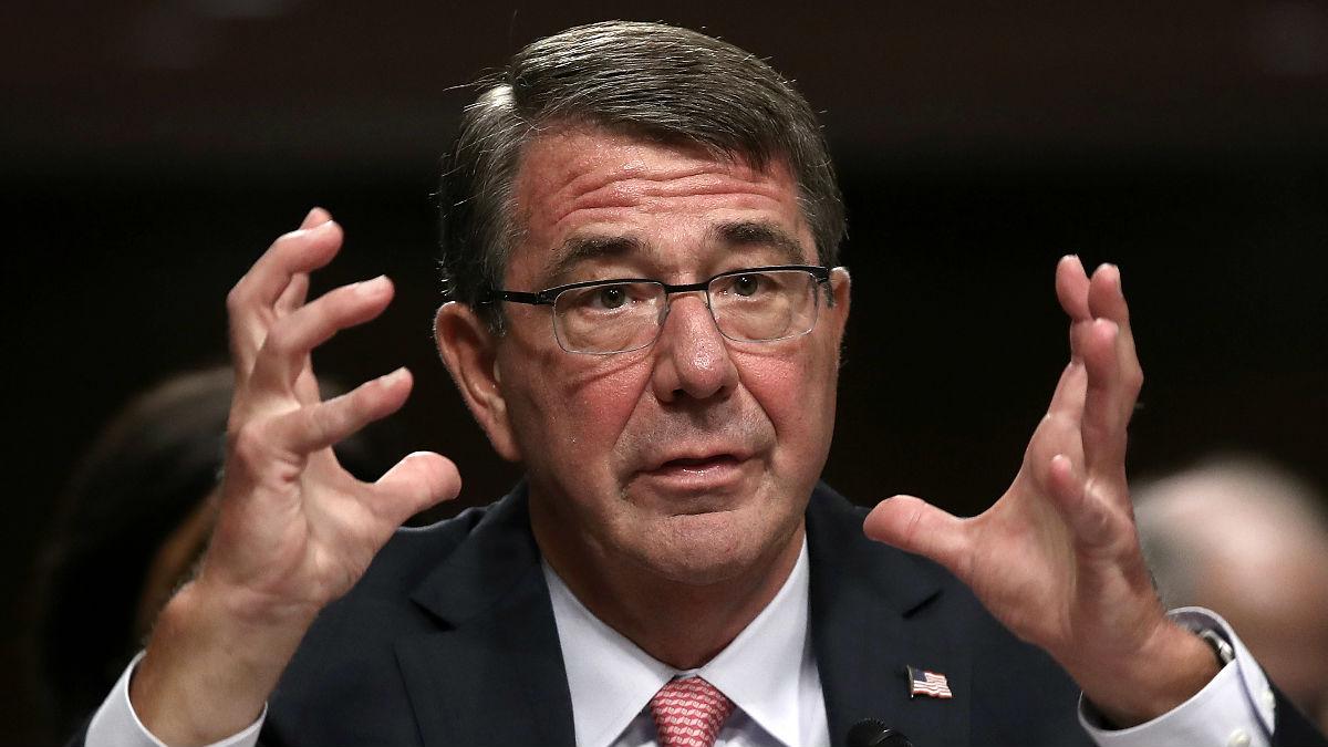 El secretario de Defensa, Ashton Carter (Foto: AFP).