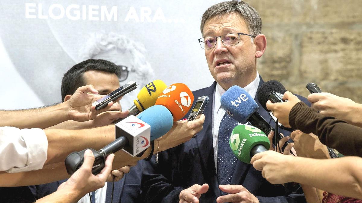 El secretario general del PSPV-PSOE y presidente de la Generalitat, Ximo Puig. Foto: EFE)