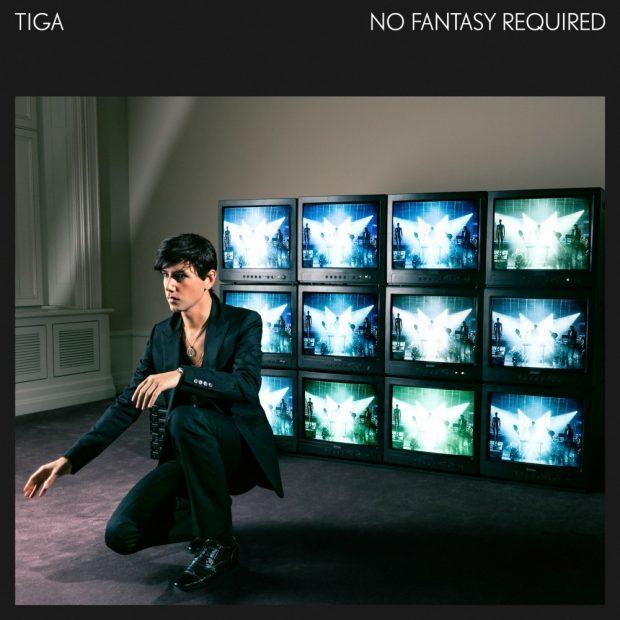 Portada del último disco de Tiga 'No fantasy required'