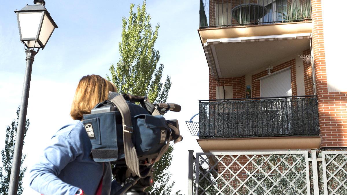Fachada de la vivienda en la que se produjo el asesinato (Foto: Efe).