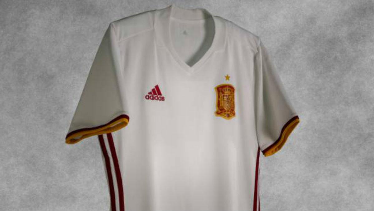 La nueva camiseta de España.