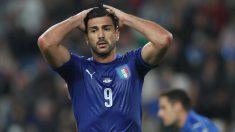 Graziano Pellè no jugará ante Macedonia por faltar al respeto a su seleccionador. (Getty)