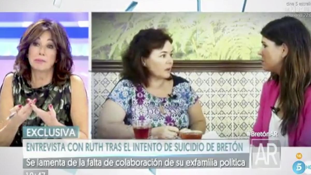Ruth Ortiz en 'El programa de Ana Rosa'.