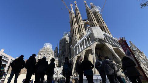 Sagrada Familia. (Foto: AFP)