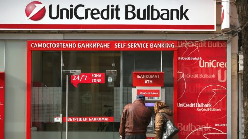 Oficina de Unicredit (Foto: GETTY).