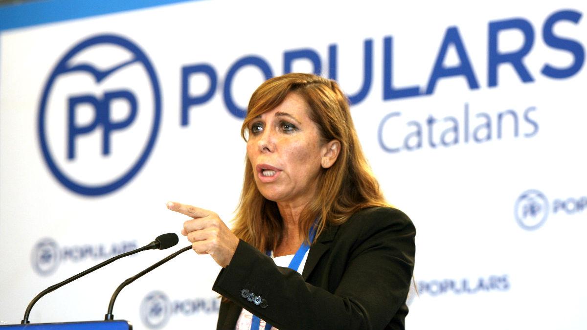 Alicia Sánchez-Camacho, secretaria primera del Congreso. (Foto: Efe)