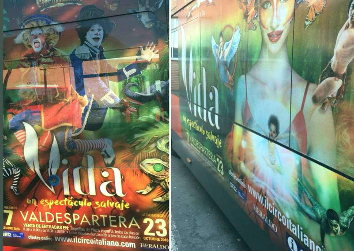 Circo Italiano en las Fiestas del Pilar 2016