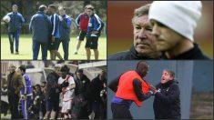 Enfrentamientos entre jugadores y entrenadores