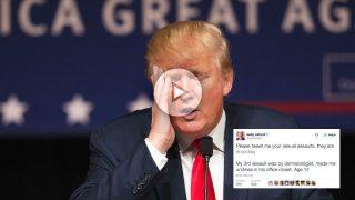 Los seguidores en Twitter de Kelly Oxford reaccionan ante los comentarios machistas de Donald Trump.