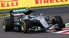 Rosberg se hizo con la pole en Suzuka. Alonso, fuera de la Q3.