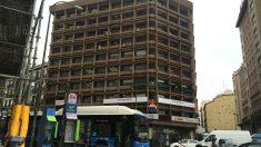 El cuartel general de Podemos, situado en la calle Princesa de Madrid.