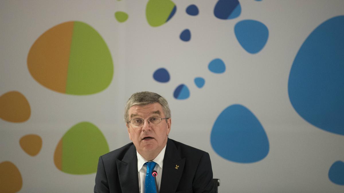 El presidente del COI, Thomas Bach. (Getty)