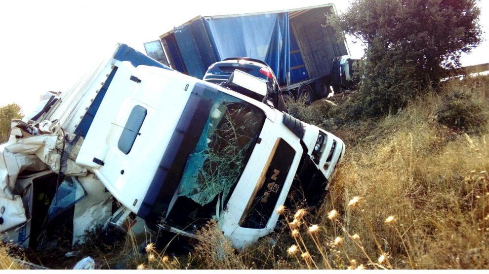 Imagen de un accidente de tráfico (Foto: Efe).
