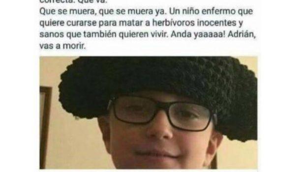 #Adriántevasacurar: las redes sociales se vuelcan con Adrián y contra los salvajes que desean su muerte