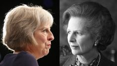 Theresa May y Margaret Thatcher (Foto: GETTY).