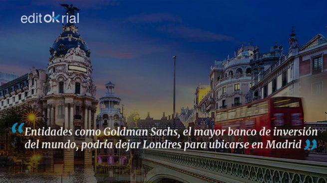 Si Madrid quiere puede ser la City