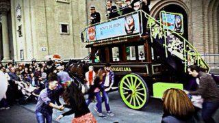 Narria Cervecera de la Zaragozana en las Fiestas del Pilar 2016