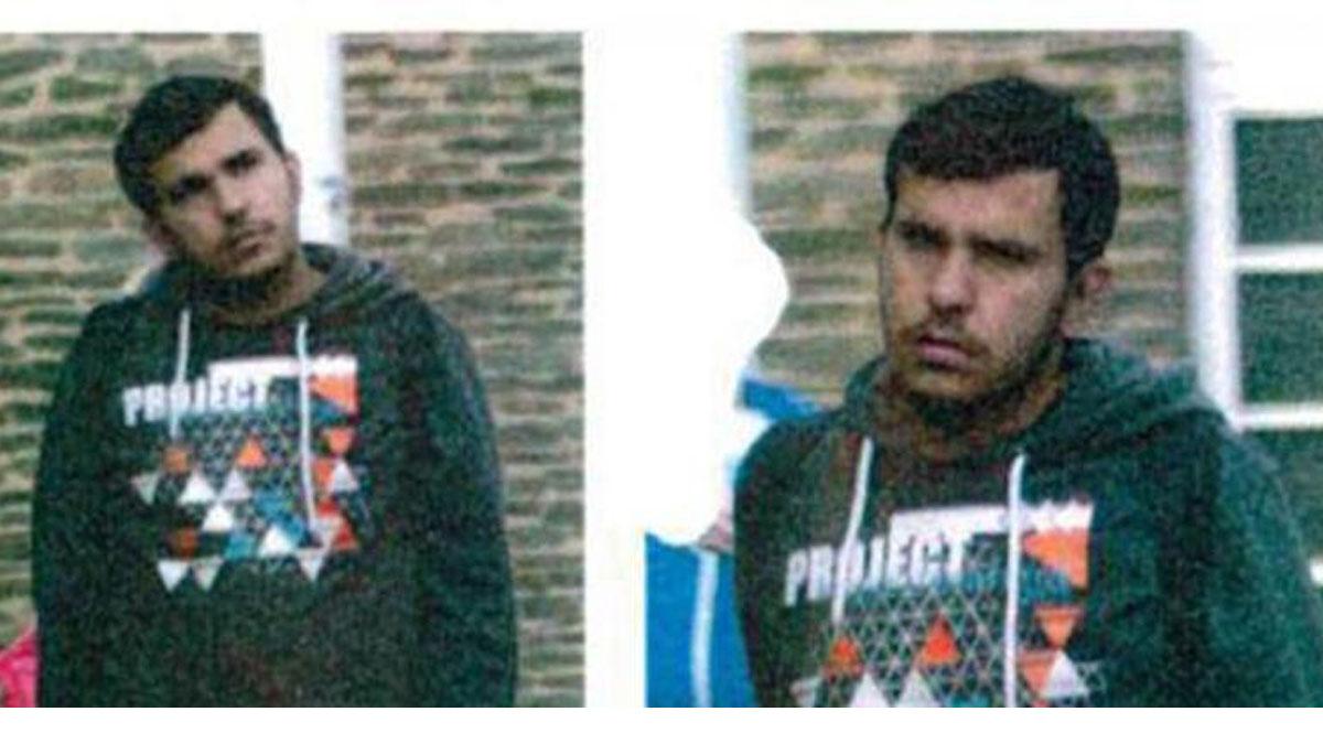 El terrorista en unas imágenes difundidas por la policía alemana.