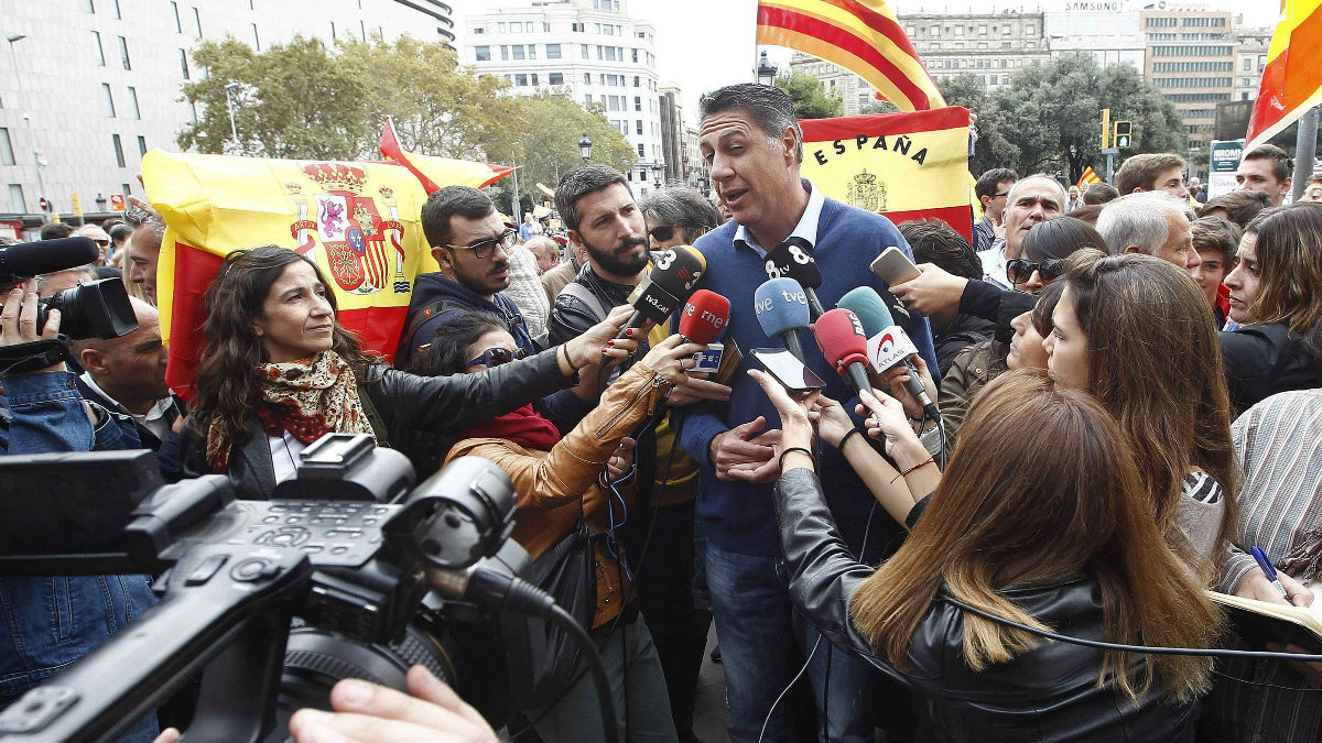 Xavier García Albiol, líder del PP catalán.