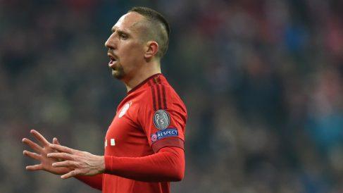Frank Ribéry, jugador del Bayern. (AFP)
