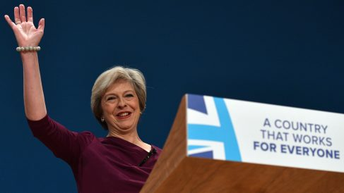 La primera ministra de Reino Unido, Theresa May (Foto: Getty)