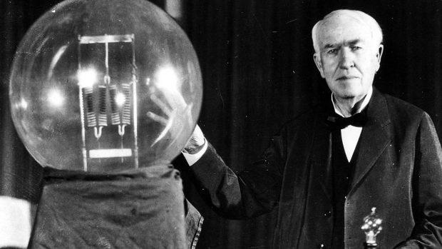 mejores inventos lampara incandescente