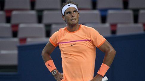Nadal perdió con Troicki en su debut en Shanghai. (AFP)