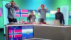 Los periodistas de Noruega no dan crédito al gol de San Marino.