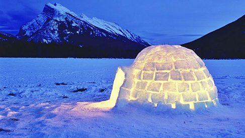 Descubre cómo construir un iglú