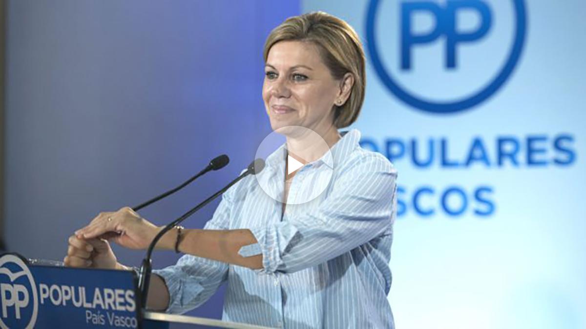 La secretaria general del Partido Popular, María Dolores de Cospedal (Foto: Efe)