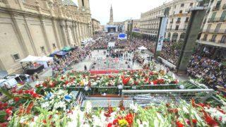 La Ofrenda de Flores de las Fiestas del Pilar 2016 en cifras (Foto: zaragoza.es)