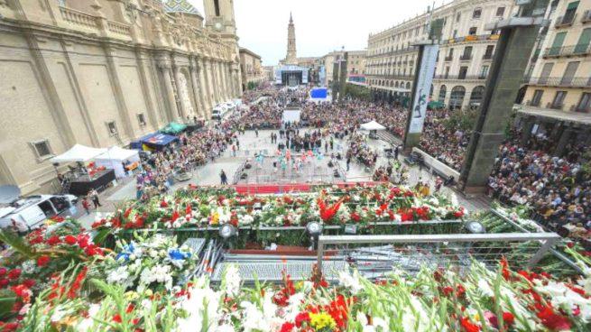La Ofrenda de Flores de las Fiestas del Pilar 2016 en cifras