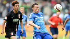 Ivica Olic, sancionado por apostar en su competición. (AFP)