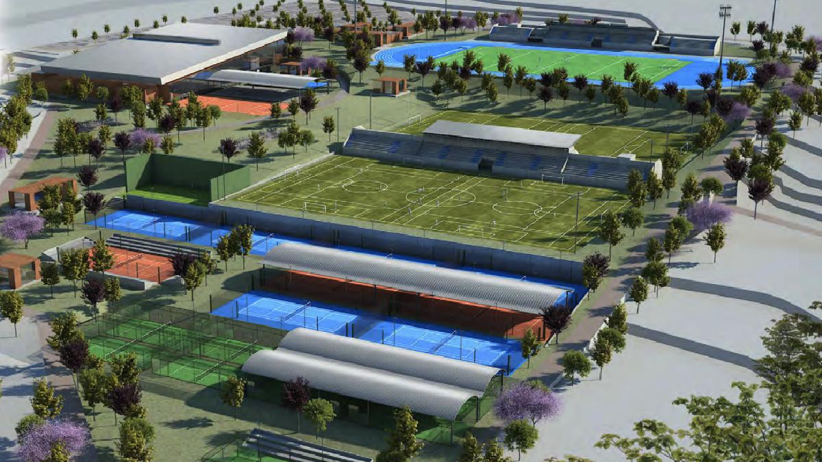 El proyecto de Valdebebas Sport Club. (Foto: VSP)