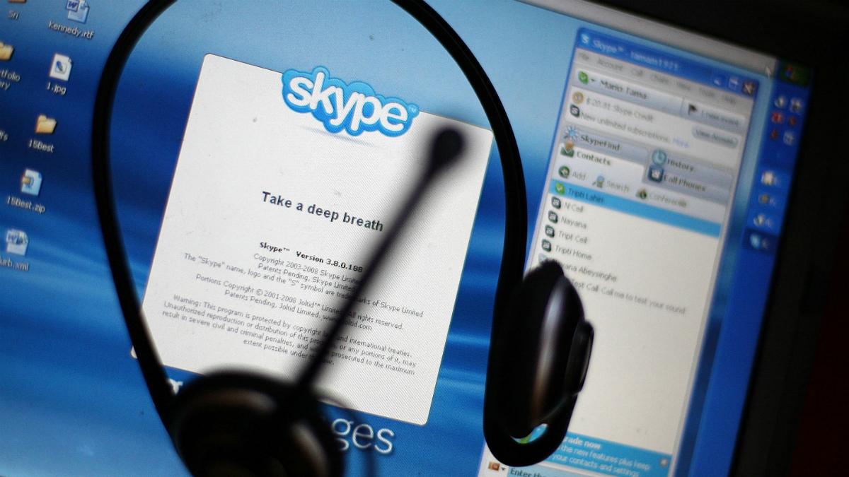 Iniciar sesión en Skype - Problemas