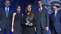 Dolores Redondo, ganadora del premio Planeta 2016.