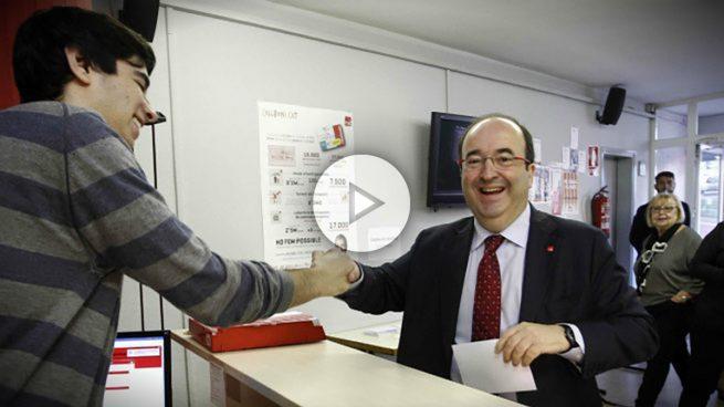 Miquel Iceta, reelegido primer secretario del PSC con un 54% de los votos