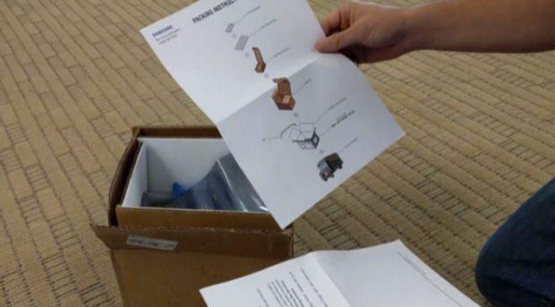 Kit ignífugo de Samsung (Foto: XDA)