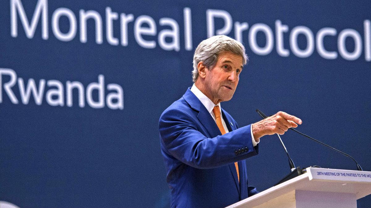 John Kerry en una reciente imagen (Foto: AFP).