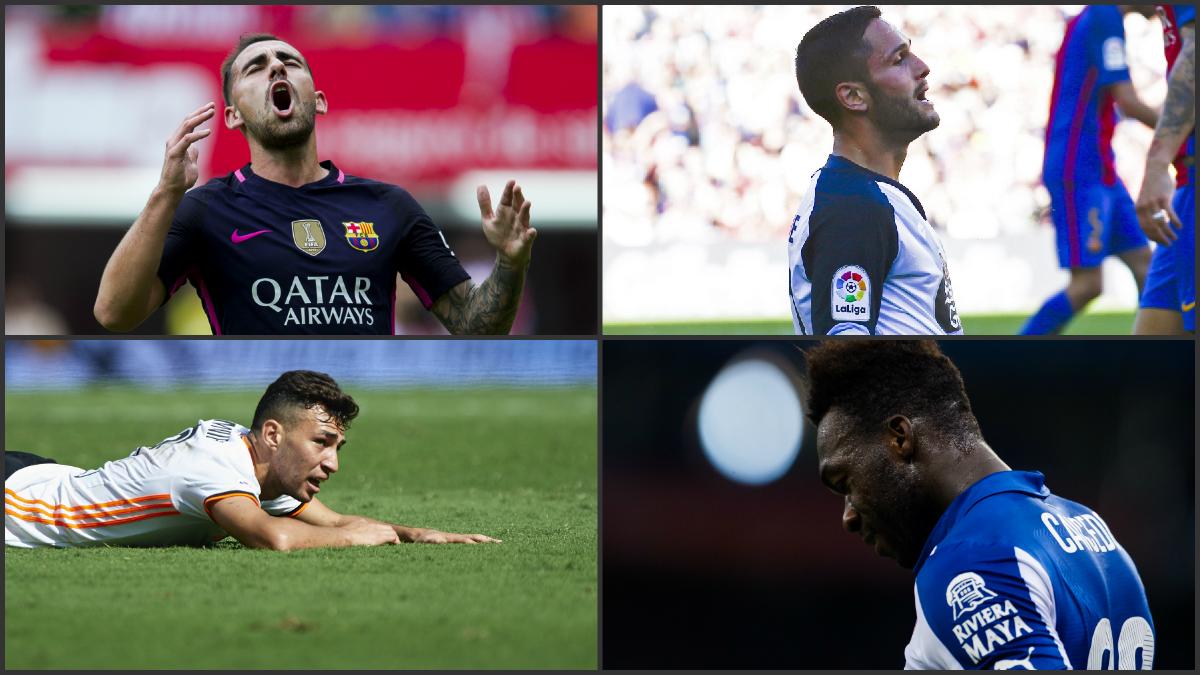 Los delanteros de la Liga Santander que aún no han visto puerta