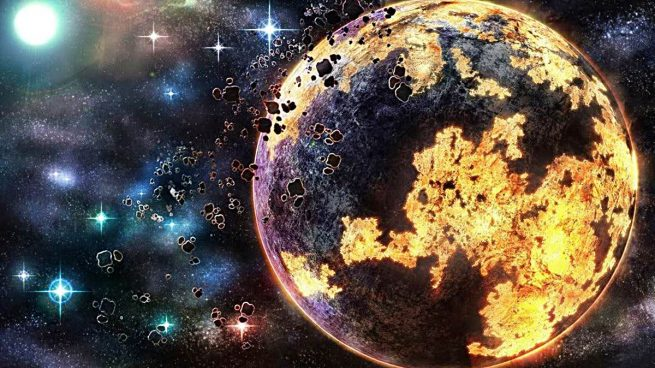 Cómo se formó la Tierra?