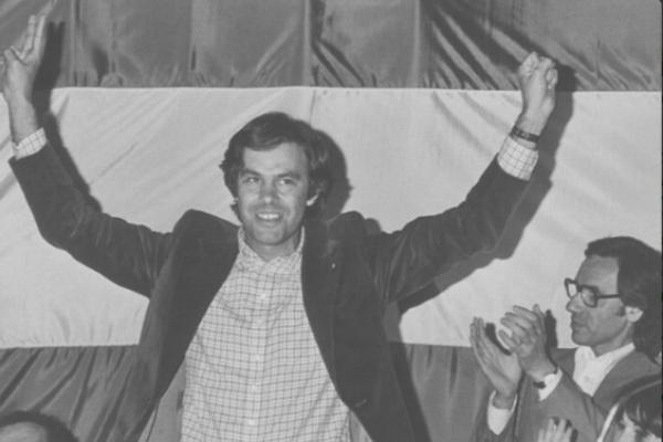 El ex presidente del Gobierno Felipe González. (@Pablo_Iglesias)