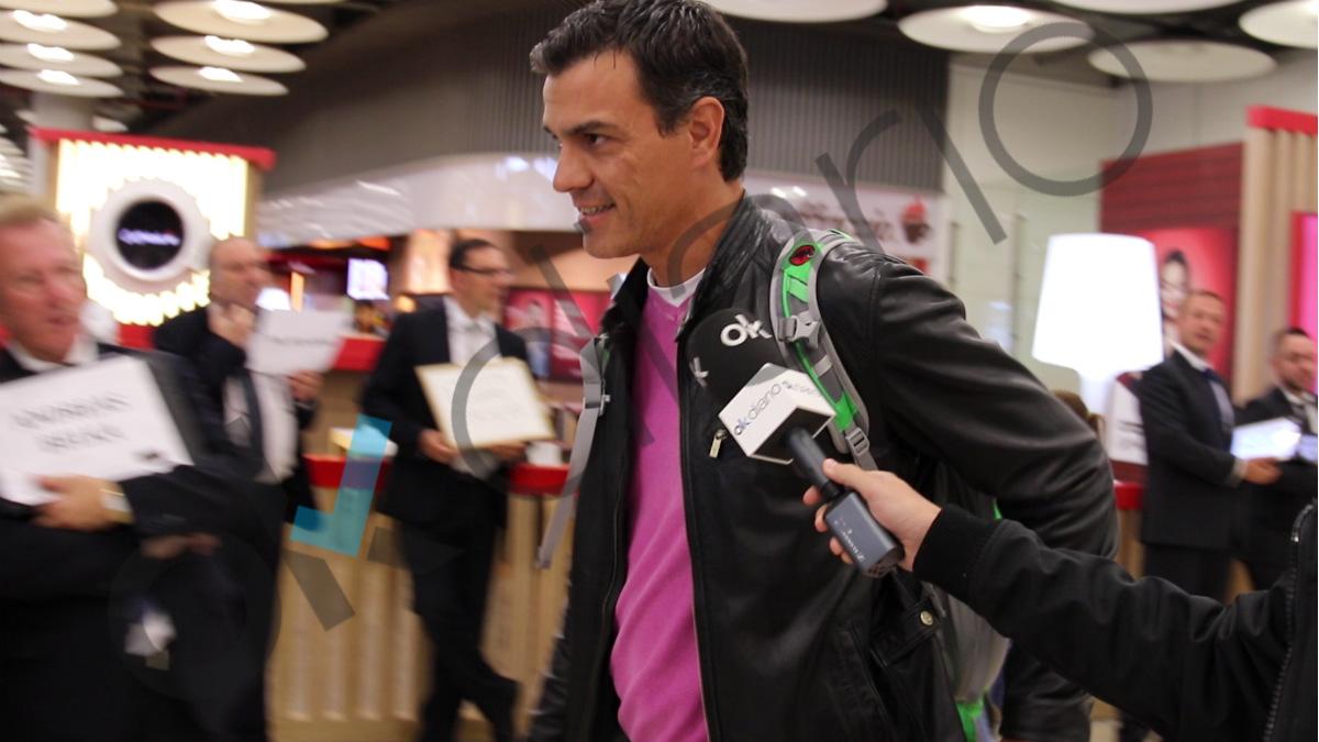 OKDIARIO ha recibido a Pedro Sánchez en exclusiva a su llegada a Madrid desde EEUU. (Vídeo: Patricia García)