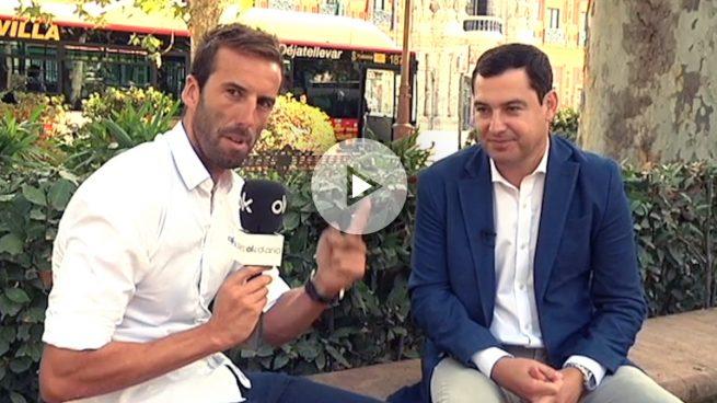 """Juan Manuel Moreno Bonilla: """"Pablo Iglesias es el Piqué de la política"""""""