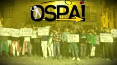 Cartel de Sortu en apoyo de los agresores de Alsasua y exigiendo la salida de la Guardia Civil del País Vasco y Navarra.