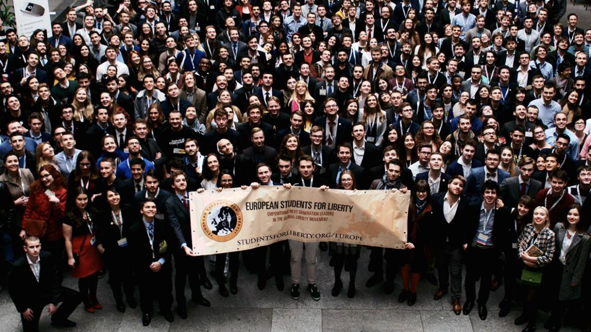 Último gran evento de Students for Liberty en Praga.