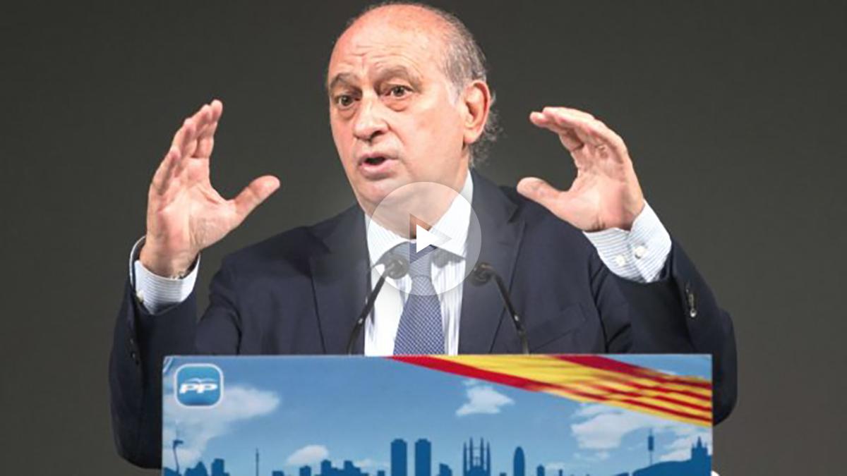 El ministro del Interior en funciones, Jorge Fernández Díaz (Foto: Efe)