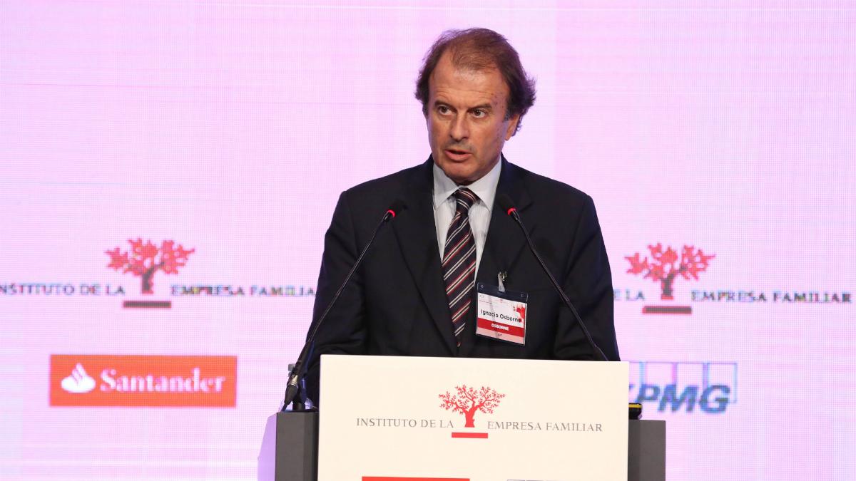 El presidente de la Empresa Familiar, Ignacio Osborne.