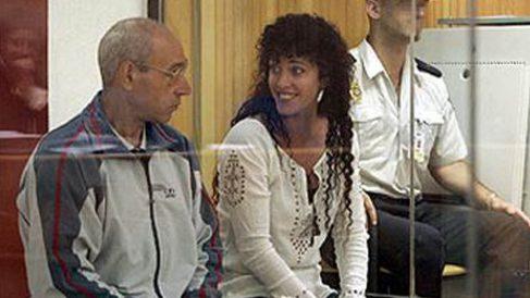 La etarra Idoia López Riaño, 'La Tigresa', se ríe durante uno de sus juicios.