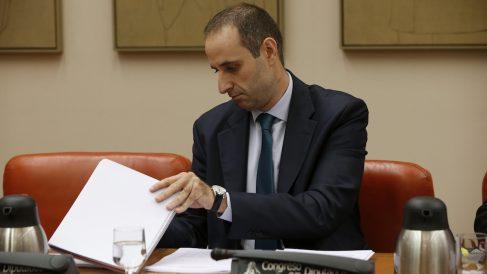 El presidente del FROB, Jaime Ponce. (Foto: EFE)